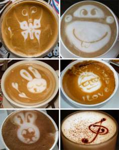 Speaking of coffee, check out this amazing coffee art! May or may not be procrastinating.