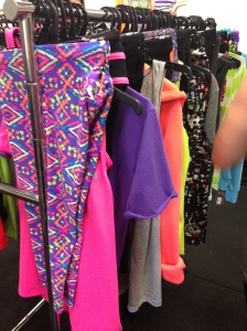 I want ALL the cute workout gear! Heaven.