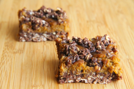 Healthy-Pumpkin-Pie-Oat-Bars