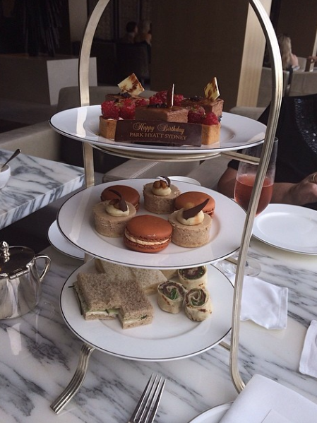 high tea goodies