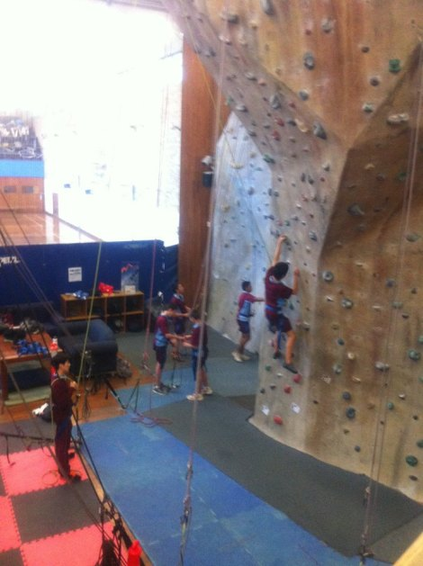 climbing gymmm